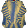 Vintage 80s Kings Road Shop Sears Mens Store Striped French Cuff Button Up Shirt Mens Size 16 - 33