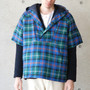 【PHINGERIN】SS OVER PARKA(BLUE-GREEN)