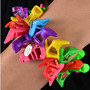 Garden Party Doll Shoe Bracelet
