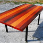 Milo Baughman Dining Table Rosewood 