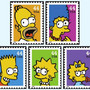 stamps/The Simpsons