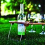 Mesavino Portable Wine and Snack Table