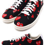Heart Print Pro Leather Low