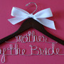 Double Decker Personalized Custom Bridal Hanger, Brides Hanger, Bride, Name Hanger, Wedding Hanger, Personalized Bridal Gift