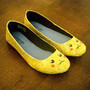 Pikachu Pokemon Glitter Shoes