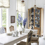 bright and beautiful french breakfast room
