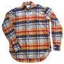 1950'S GREY MELANGE CHECK SHIRT
