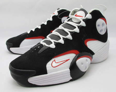Air Flight One - White/Black/Red (Sample)