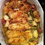 Garlic & lemon chicken with green beans & red potatoes