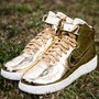 NIKE LUNAR FORCE 1 HI SP METALLIC GOLD/METALLIC GOLD-SAIL