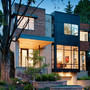 contemporary gallery style home in Ottawa's urban core