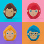 rubber barber - create hairstyles for each character by simply erasing