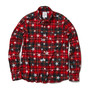 STAR PATERN FLANNEL CHECK B.D SHIRT