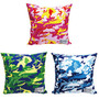 Andy Warhol CAMOFLAGE SUQUARE CUSHION COVER+CUSHION