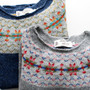 NOR'EASTERLY WIDE NECK NORDIC SWEATER