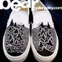 Custom Vans-- Joy Division