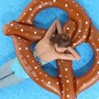 Big Pretzel Pool Float