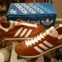 "「<deadstock>'98 adidas COUNTRY brown/white""made in JAPAN"" W/BOX size:25.5cm 14800yen」完売"