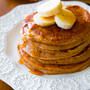 Simple Whole Wheat Banana Pancakes