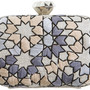 SARAH'S BAG Arabesque Clutch