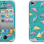 DINOSAUR grn Iphone Cover