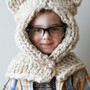 Knitting PATTERN - Chunky Kitty Hood