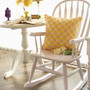rocking chair pastel pink
