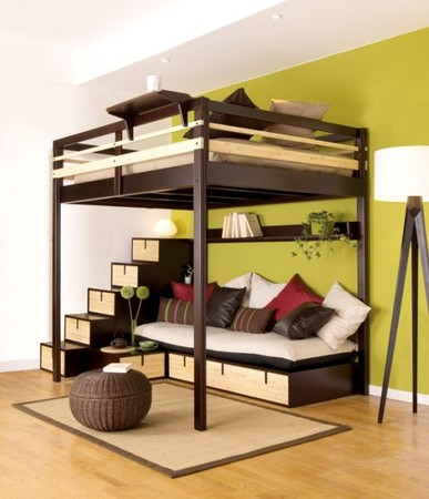 loft bed - adult. espace logia loft bed - adult. Wanted by Zones Maya ...