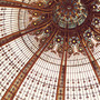 Paris Photography, Art Nouveau Stained Glass, Autumn Colors, Galeries Lafayette - Splendor in the Glass