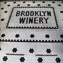 Brooklyn Winery tile entrance.