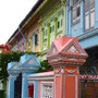 Pastel color's houses