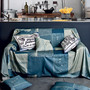 DENIM FIELD FURNISHING THROW