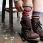 multi wool socks