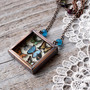Statement Necklace Butterfly Collection by