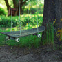 Upcycled skateboard swing