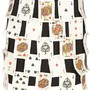 Vintage 3D playing card skirt