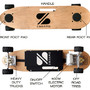 a weight sensing electric skateboard