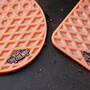  Waffle Sole Rubber Coasters 