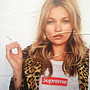 Kate Moss for Supreme Poster