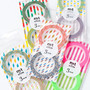 mt Washi Masking Tape - 3mm Twist & Stripes - Slim Set 2