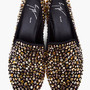 Gold Swarovski Kevin Loafers