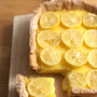 citrus curd tart