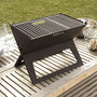 Foldable Notebook Charcoal Grill