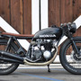HONDA CB550 build by Brady Young
