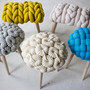knit stools