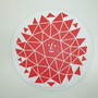 """Sun"" Novelty Mouse Pad, Designed by Alexander Girard"