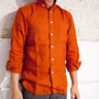 SancaLinen O/D Wide Collar Shirts  