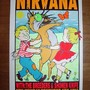 Kozik 1993 KZ93-47 NIRVANA, The Breeders Silkscreen Concert Poster Signed Mint-
