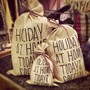 HOLIDAY GIFT WRAPPING BAG