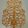 Tree of Life Mexican Folk Candle Stand